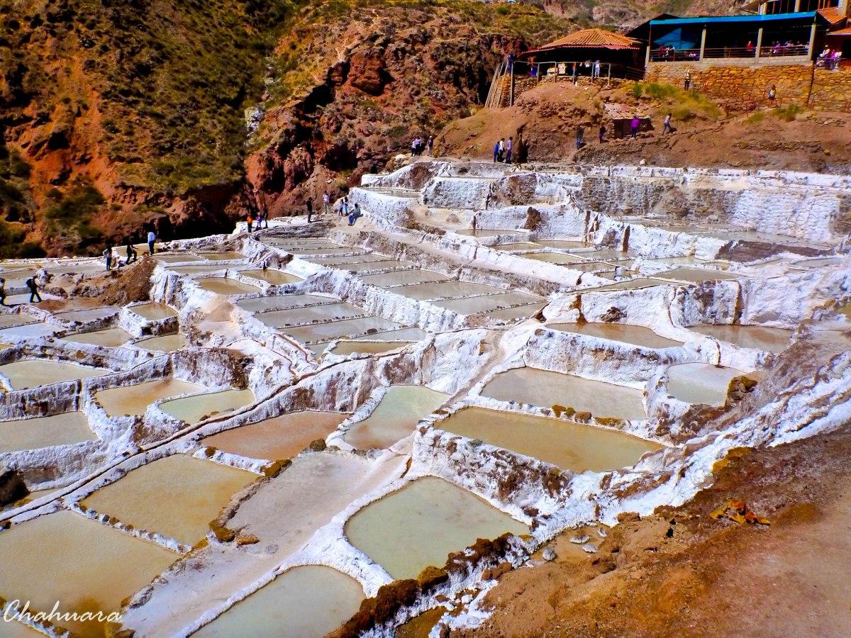 Las Salineras de Maras en Cusco