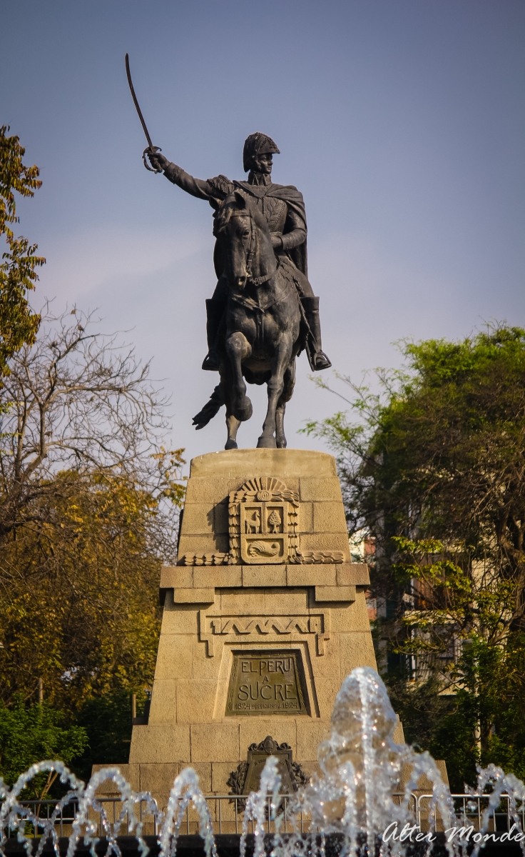 Lima al Mariscal Sucre