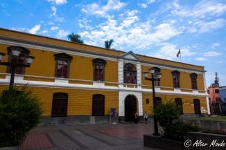 Frontis del Centro Cultural UNMSM